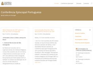 L'année de la Vie Consacrée sur le site de la conférence épiscopale portugaise