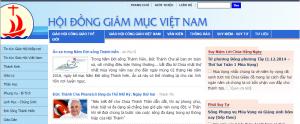 L'année de la Vie Consacrée sur le site de la conférence des évêques du Vietnam