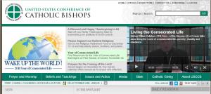 Site de la Conférence des évêques catholiques des États-Unis
