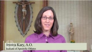 Jessica Kary présente les instituts séculiers
