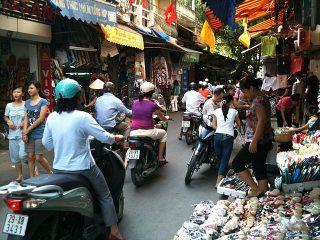 Ngoc Ha Market à Hanoi